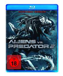 Aliens vs. Predator 2 (Blu-ray), Blu-ray Disc