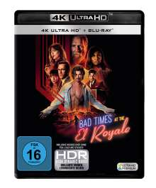 Bad Times at the El Royale (Ultra HD Blu-ray & Blu-ray), 1 Ultra HD Blu-ray und 1 Blu-ray Disc