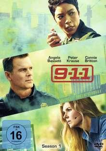 9-1-1 Season 1, 3 DVDs