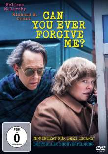 Can You Ever Forgive Me?, DVD