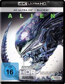 Alien 1 (Ultra HD Blu-ray & Blu-ray), Ultra HD Blu-ray