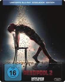Deadpool 2 (Flashdance-Artwork) (Blu-ray im Steelbook), Blu-ray Disc