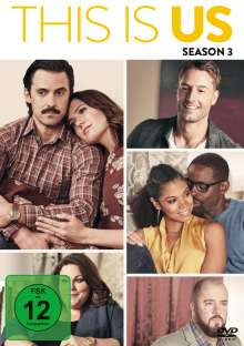 This is us Staffel 3, 5 DVDs