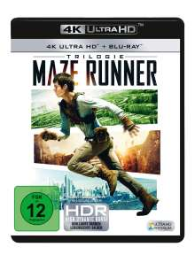 Maze Runner Trilogie (Ultra HD Blu-ray & Blu-ray), 6 Ultra HD Blu-rays