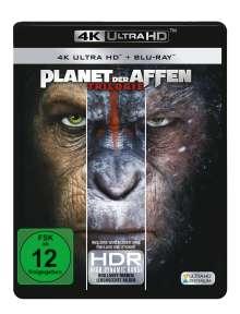 Planet der Affen Trilogie (Ultra HD Blu-ray & Blu-ray), 3 Ultra HD Blu-rays und 3 Blu-ray Discs