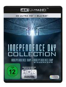 Independence Day 1 & 2 (Ultra HD Blu-ray & Blu-ray), 4 Ultra HD Blu-rays