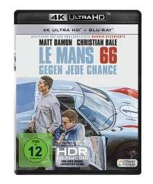 Le Mans 66 - Gegen jede Chance (Ultra HD Blu-ray & Blu-ray), 1 Ultra HD Blu-ray und 1 Blu-ray Disc