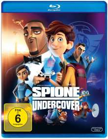 Spione Undercover (Blu-ray), Blu-ray Disc