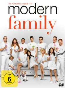 Modern Family Season 10, 3 DVDs