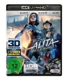 Alita: Battle Angel (Ultra HD Blu-ray & 3D & 2D Blu-ray), Ultra HD Blu-ray