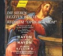 Joseph Haydn (1732-1809): Die sieben letzten Worte unseres Erlösers (Oratorium), CD