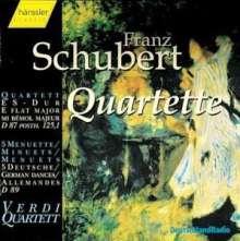 Franz Schubert (1797-1828): Streichquartett Nr.10, CD