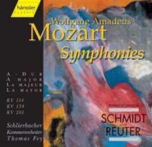 Wolfgang Amadeus Mozart (1756-1791): Symphonien Nr.14,21,29, CD