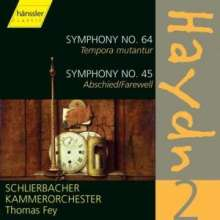 Joseph Haydn (1732-1809): Symphonien Nr.45 & 64, CD