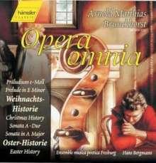 Arnold Melchior Brunckhorst (1670-1730): Weihnachtshistorie, CD