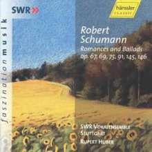 Robert Schumann (1810-1856): Romanzen & Balladen opp.67,69,75,91,145,146, CD