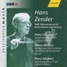 Hans Zender dirigiert das SWR Sinfonieorchester Baden-Baden und Freiburg, CD