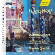 """Hugo Wolf (1860-1903): Streichquartett d-moll """"Entbehren sollst du, sollst entbehren"""", CD"""
