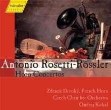 Antonio Rosetti (1750-1792): Hornkonzerte Murray C38,49,51 (Kaul 36,38,42,43), CD
