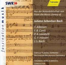 Aus der Notenbibliothek von Johann Sebastian Bach, CD