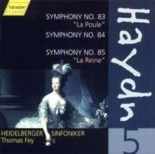 Joseph Haydn (1732-1809): Symphonien Nr.83-85, CD
