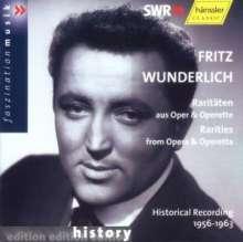 Fritz Wunderlich - Raritäten aus Oper & Operette, CD
