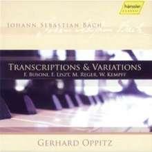 Gerhard Oppitz - Transkriptionen & Variationen, 2 CDs