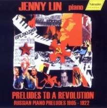 Jenny Lin - Preludes to a Revolution, CD