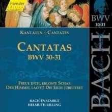 Johann Sebastian Bach (1685-1750): Die vollständige Bach-Edition Vol.10 (Kantaten BWV 30 & 31), CD