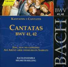 Johann Sebastian Bach (1685-1750): Die vollständige Bach-Edition Vol.14 (Kantaten BWV 41 & 42), CD