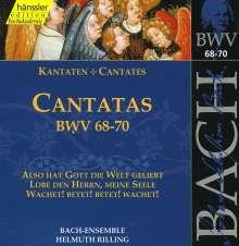 Johann Sebastian Bach (1685-1750): Die vollständige Bach-Edition Vol.22 (Kantaten BWV 68-70), CD