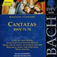 Johann Sebastian Bach (1685-1750): Die vollständige Bach-Edition Vol.23 (Kantaten BWV 71-74), CD