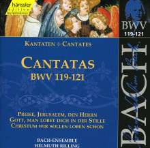 Johann Sebastian Bach (1685-1750): Die vollständige Bach-Edition Vol.38 (Kantaten BWV 119-121), CD