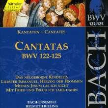 Johann Sebastian Bach (1685-1750): Die vollständige Bach-Edition Vol.39 (Kantaten BWV 122-125), CD