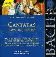 Johann Sebastian Bach (1685-1750): Die vollständige Bach-Edition Vol.44 (Kantaten BWV 140, 143-145), CD