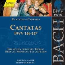 Johann Sebastian Bach (1685-1750): Die vollständige Bach-Edition Vol.45 (Kantaten BWV 146 & 147), CD