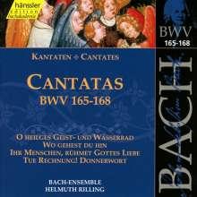 Johann Sebastian Bach (1685-1750): Die vollständige Bach-Edition Vol.50 (Kantaten BWV 165-168), CD