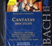 Johann Sebastian Bach (1685-1750): Die vollständige Bach-Edition Vol.52 (Kantaten BWV 172-175), CD