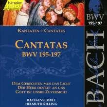 Johann Sebastian Bach (1685-1750): Die vollständige Bach-Edition Vol.59 (Kantaten BWV 195-197), CD