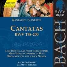 Johann Sebastian Bach (1685-1750): Die vollständige Bach-Edition Vol.60 (Kantaten BWV 198-200), CD