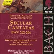 Johann Sebastian Bach (1685-1750): Die vollständige Bach-Edition Vol.62 (Kantate BWV 202-204), CD