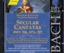 Johann Sebastian Bach (1685-1750): Die vollständige Bach-Edition Vol.64 (Kantaten BWV 206a, 207a, 207), CD