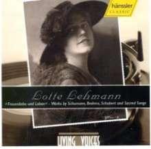 Lotte Lehmann Lieder, CD