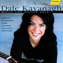 Dale Kavanagh - Music for Guitar solo, CD