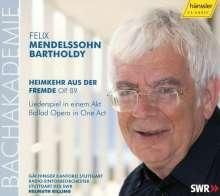 Felix Mendelssohn Bartholdy (1809-1847): Heimkehr aus der Fremde op.89, CD