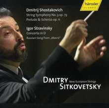 Dmitri Schostakowitsch (1906-1975): Kammersymphonie op.73, CD