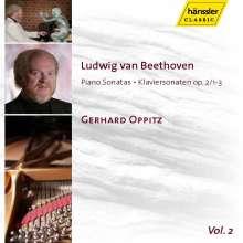Ludwig van Beethoven (1770-1827): Klaviersonaten Nr.1-3, CD