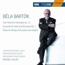 Bela Bartok (1881-1945): Musik für Saiteninstrumente, Schlagzeug & Celesta, CD