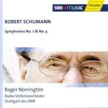 Robert Schumann (1810-1856): Symphonien Nr.2 & 4, CD