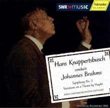 Hans Knappertsbusch dirigiert Brahms, CD